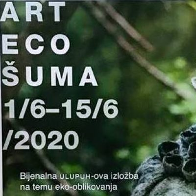 Art Eco / Šuma bijenalna ULUPUH-ova izložba na temu eko-oblikovanja